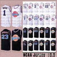 Tune Squad Jersey Taz 1/3 Tweety Jam Men Michael Bugs Bunny 22 Bill Murray 10 Lola 2 D.Duck Movie Basket Blower Jerseys