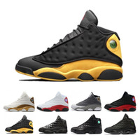 Classics 13 13s Lakers Rivais Ambiente Shoes Grey Homens Fantasma Black Cat Mulheres basquete Flint Bred Olive Sneakers