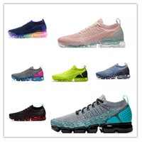 2018 Running Shoes Women and men top quality Sneakers white ...
