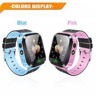 Q528 Smart-Uhr-Kind-Armbanduhr-wasserdicht Baby-Uhr mit Remote Camera SIM Anrufen Geschenk für Kinder pk dz09 GT08 a1 Smartwatch