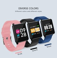 HOT J10 Smart Bracelet Watch Band fitness tracker Blood Pressure Monitor di frequenza cardiaca Wristband per Android IOS pk fitbit