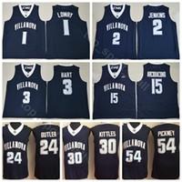 College Villanova Wildcats Jerseys Baloncesto Kyle Lowry 2 Kris Jenkins 3 Josh Hart 15 Ryan ArcidiactoCono 30 Kerry Kittles 54 Ed Pinckney
