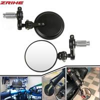 Motosiklet Ayna Alüminyum 22mm Kol Bar Bitiş Dikiz Yan Aynalar Motorlu Aksesuarları İÇİN XVS950 XV1900 XVS1300 Virago