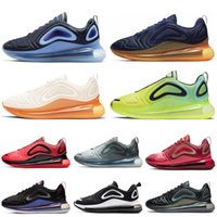 Nike Air Max 720 Chaussures de course pour hommes Femmes Northern Lights Sunrise Sunset Triple Blanc Noir 72C Athlétique Sports de plein air Sneakers 36-45