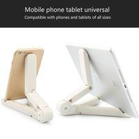Регулируемая настольная подставка для планшета Держатель для складного штатива Универсальный настольный держатель для мобильного телефона Стент Для планшетного ПК Samsung iPad