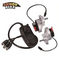 Elektryczne silniki wózki inwalidzkie Joystick Controller Left One Pair One Pair 24 V 200W Niska Speed High Torque Brush DC Silnik przekładni DC