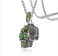 2019 New Punk Ghost Head Pendant Men Skull Christmas Ornamen...