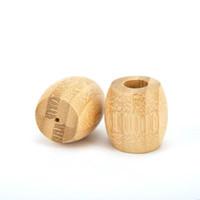 Подставка для зубных щеток натурального бамбука Зубной щетка ванной Держателя Washroom биоразлагаемых Wood Set Экология Пользовательского логотип Антибактериальной EEA1338-5
