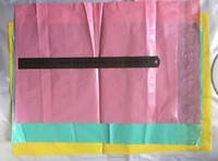 Rosa poly express tasche selbstklebende dicker post versand taschen kurier plastiktüte umschlag kurier post transport verpackung großhandel