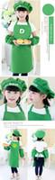 مآزر الجيب كرافت الطبخ الخبز فن الرسم أطفال مطبخ تناول الطعام مريلة الطفل المرايل الاطفال مآزر 10 الألوان شحن مجاني A-0380 011