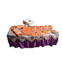 Дальнее инфракрасное сауна лимфатическое дренажное массажное оборудование инфракрасное тепловое одеяло прессотерапевтические машины для продажи для похудения тела Wrap одеяло
