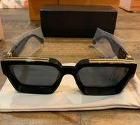 Men Women Fashion Brand Millionaire Sunglasses Black Oversiz...