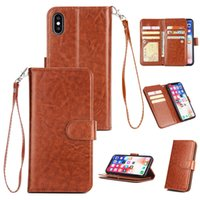One Piece Wallet PU Leather Case For Samsung Galaxy S 6 7 8 ...