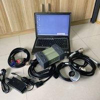 Pro ferramenta de diagnóstico de estrelas pro MB com laptop D630 RAM 4G Software HDD Full Set pronto para uso