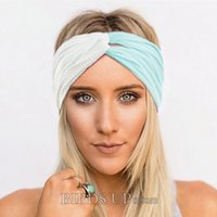 Twist Headbands for Women Soft Turban Headband Yoga Headwrap...