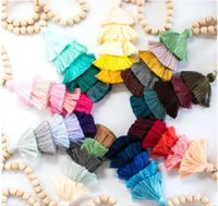 Fashion Multi Color Handmade Bunch Natural Wood Bead Tiered ...