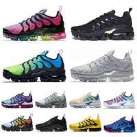 Nike Vapormax Plus TN Run Cuscini Tn Inoltre Uomini Trainer Tennis scarpe da corsa TNS completa Bianco Nero essere vero scarpe da ginnastica donne sportive