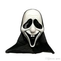Хеллоуин маска для головы пластиковая маска черепа скелет призрак маски для хэллоуин косплей костюм