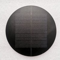 Célula solar Painel de 1W 5V Carregador Solar Educação Painel Para 3.7V Bateria PET Monocry Silicon Ktis Estudo Lawn Lâmpada de carregamento de energia