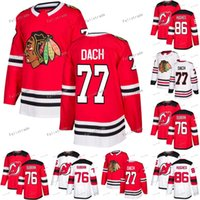77 Kirby Dach Chicago Blackhawks 86 Jack Hughes New Jersey Devils P.K.Subban Hockey Jersey Double Stitched EN STOCK