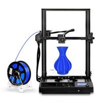 Настольный 3D принтер DIY наборы самостоятельной печати Self Assemby Размер 310 * 310 * 400 мм с Ultra-тихий ЖК-панель управления 2020 Новейшая для 3D Образование детей