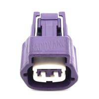 Elektrischer Verbinderberg Violet 2 Pin Sumitomo Female 6189-0778 Für Auto