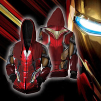 Avengers 4 Endgame Quantum Realm Iron Man Thanos Coat Anime ...
