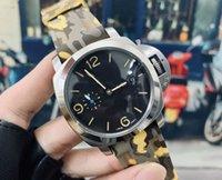 남성 시계 316L 스테인레스 스틸 44mm * 15mm 일본식 기계 운동을위한 자동 손목 시계 특별 손목 시계 2