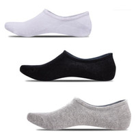 Solid Color Sock Slipper Casual Relaxed Fashion Homme Underwear Silicone Slip Male Clothing Mens Summer Designer