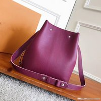 Top highest quality Bucket bag Coate Real genuine Leather Ha...