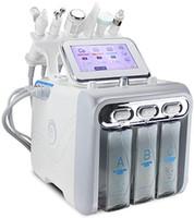 6 em 1 Hydrogen Oxygen pequena bolha beleza máquina Ultra Micro hidrogênio do oxigênio pequena bolha Professional pele rejuvenescimento máquina para Deep
