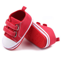 Scarpe da bambino in tela Ragazze neonate Ragazze First Walkers Infant Toddler Soft Bottom Bottom Sneakers antiscivolo