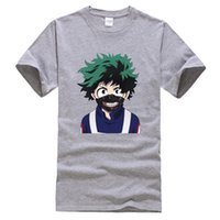 My Hero Academia Funny Print Men T- Shirts New Summer 2020 Hi...