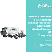 Novo Estimulador Massageador de Estimulação Muscular Terapia Eletrônica Eletrônica Eletrônica Massagem máquina de perda de peso estimulador muscular elétrico wi