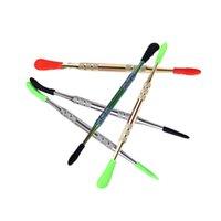 121mm dab Werkzeug Wax dabber Werkzeug für VAX Zerstäuber Titan nail dabber Werkzeug Für trockene herben Verdampfer pen