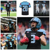 2020 XFL Formalar Dönekler Jersey Landry Jones Philip Nelson Brogan Roback Cameron Artis-Payne Erkek Futbol Formalar Özel Dikişli