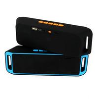 SC-208 мини Портативный Bluetooth 4.0 колонки беспроводной смарт громкой связи динамик большой мощности сабвуфер поддержка TF и USB FM-радио MP3-плеер