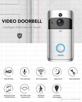 EKEN الذكية فيديو الجرس في الوقت الحقيقي 720P HD الفيديو واي فاي كاميرا اتجاهين ليلة الرؤية الصوت التطبيقات تحكم واي فاي تمكين الجرس