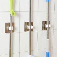 يعلق على الحائط الممسحة المنظم حامل فرشاة المكنسة شماعات تخزين الرف أدوات المطبخ هوك رفوف المطبخ حمام منظم KKA7893