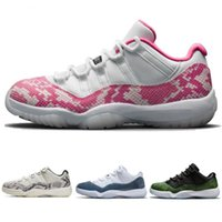 11s snakeskin navy pink white 11 low 2019 new cheap mens wom...
