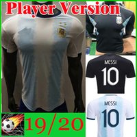 Player Version Thailand Argentina Soccer Jersey copa america...