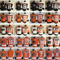 New Arrival. Philadelphia Flyers Hockey Jerseys Ice 8 Dave Schultz 1 Bernie  Parent 16 Bobby Clarke 88 Eric Lindros ... 72b9cb38e