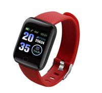 116plus Smart Bracelet Waterproof Fitness Tracker Watch Hear...