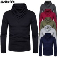 Mens Thermal Cotton Turtle Neck Skivvy Turtleneck Stretch Sh...
