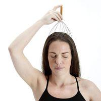 2020 Cabeza de alambre Masaje garra pulpo masaje del cuero cabelludo Garras de Compensación venas calmante cerebral Refrescante Cabeza Relajante garra del pelo