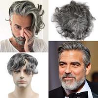الرجال الباروكة المتاح الشعر المستعار الهندي ريمي الشعر استبدال الشعر الرقيقة السوبر الجلد