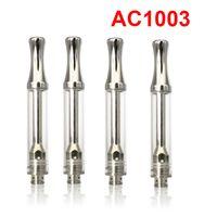 AC1003 керамического картридж Coil высокого Quanlity Va Патроны стекла Форсунка 510 Thread Vape Pen 0.5ml 1мл Atomizer перевозки груза DHL