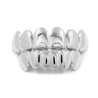 Хип-хоп Личность клыки клыки зубы золотые серебряные розовые золотые зубы Grillz золото ложные зубы устанавливает вампир гриль для женских стоматологических грилей