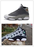 New 13s XIII Atmosphere Grey LOW men basketball shoes sports...