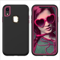 3 in 1 Armor Phone Case For Iphone 11 Pro Max 6 7 8 Plus XS ...
